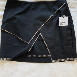 BY THE WAY STUDDED SKIRT